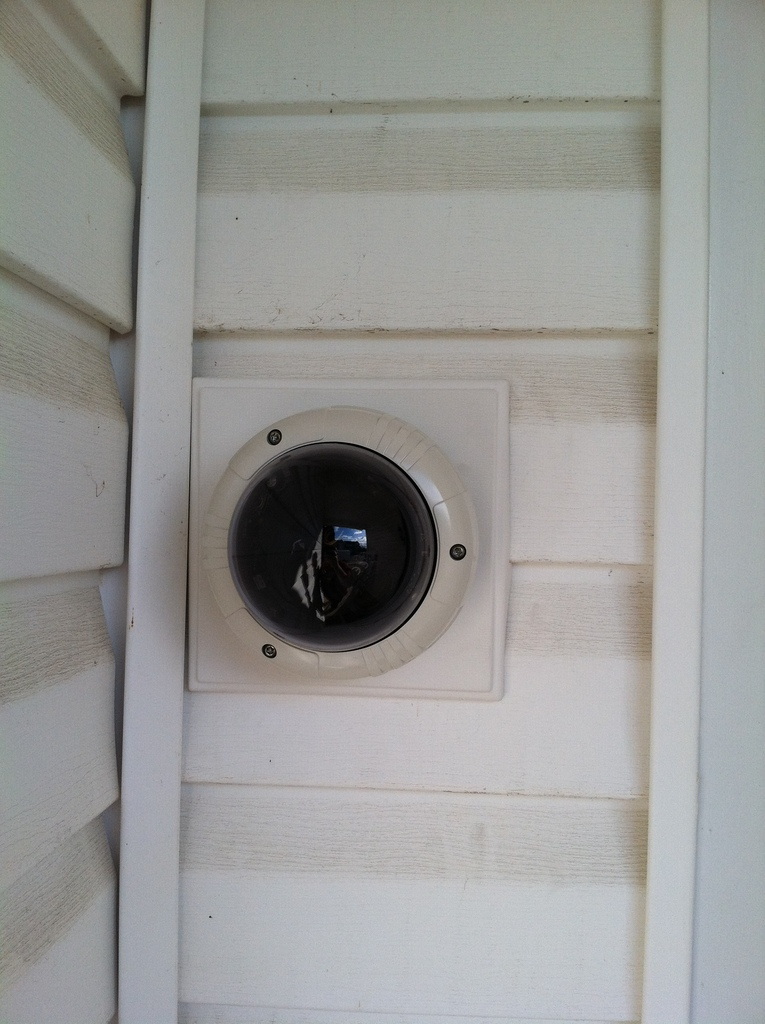 Mounting Dome Camera On Vinyl Siding Cctv Forum