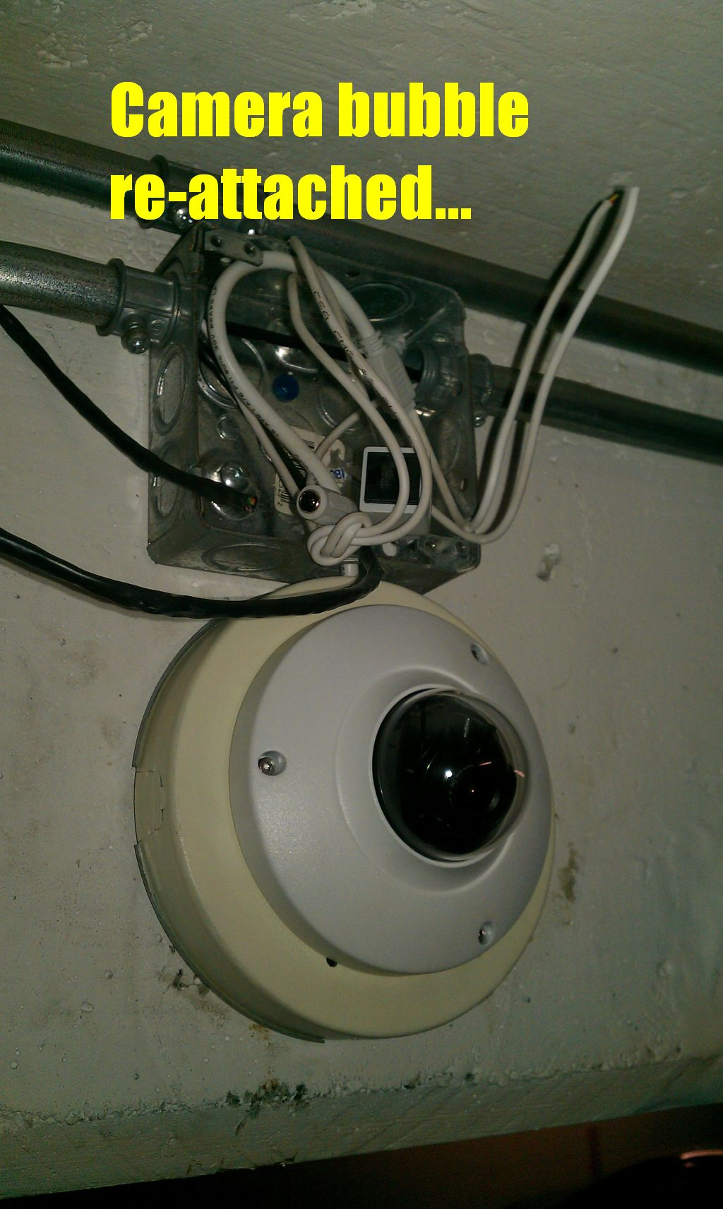 Dome Camera Mounting Options Cctv Forum
