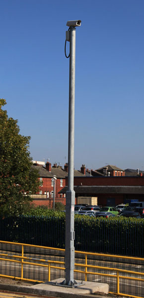 Tall Aluminum Light Poles For Camera Mounting Cctv Forum