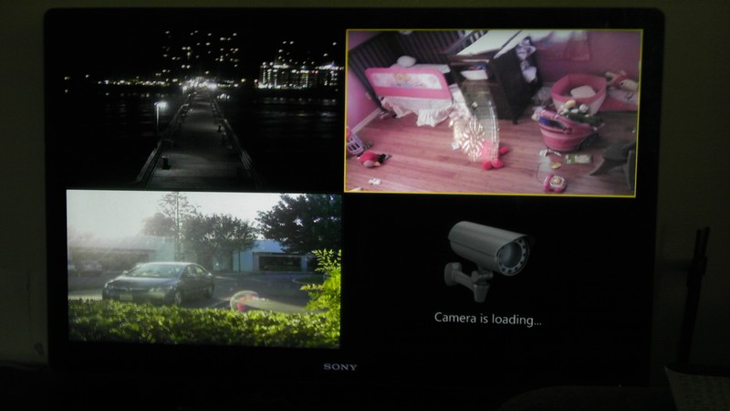 IP cams via smart TV - IP/Megapixel Cameras and Software Solutions