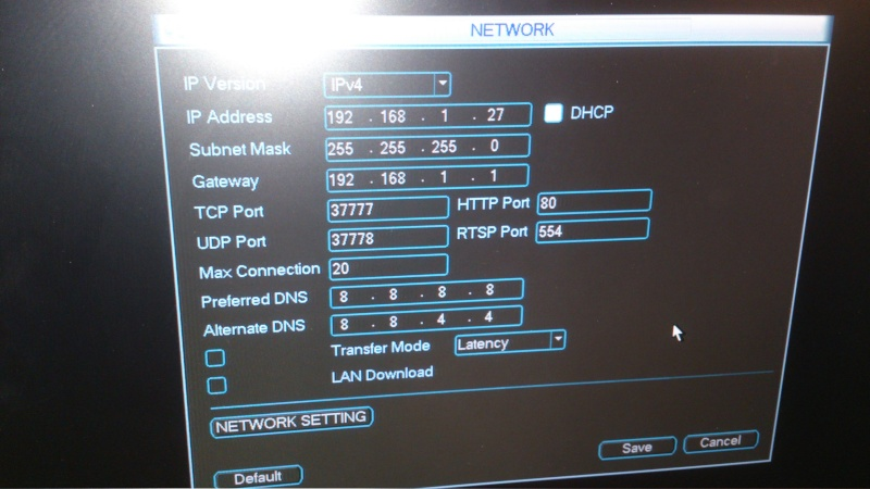 Howto: connect to IP cameras on the POE ports of Dahua NVR - IP