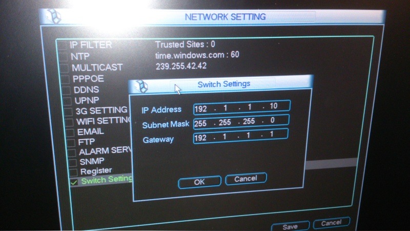 Howto: connect to IP cameras on the POE ports of Dahua NVR