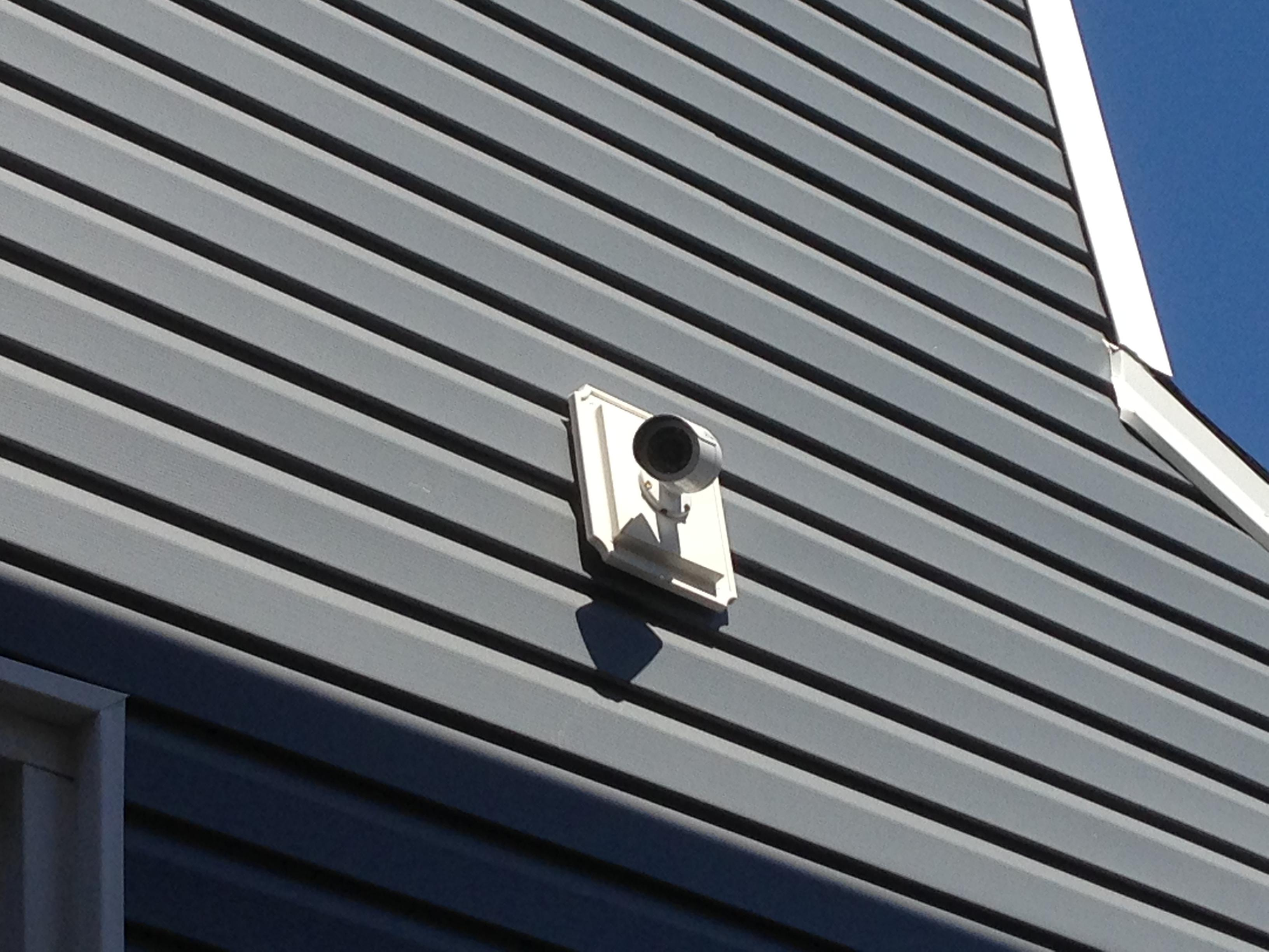 Idea For Vinyl Siding Cctv Forum