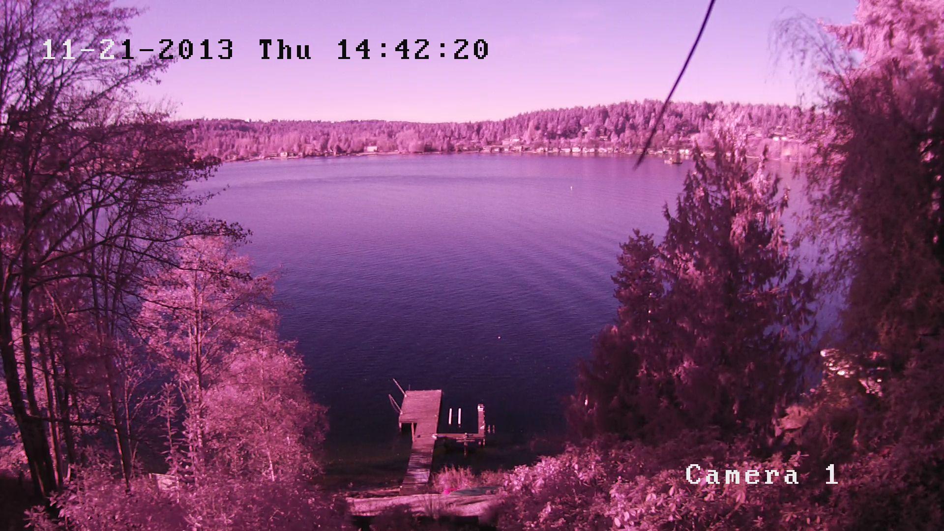 Severe Purple Hue To Camera On Swann 7200 System Cctv
