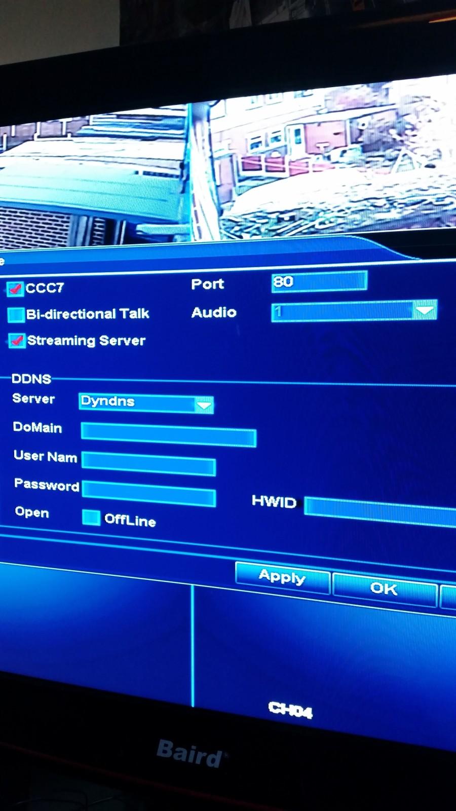 Floureon CCTV & Mobile App - without WIFI? - General Digital