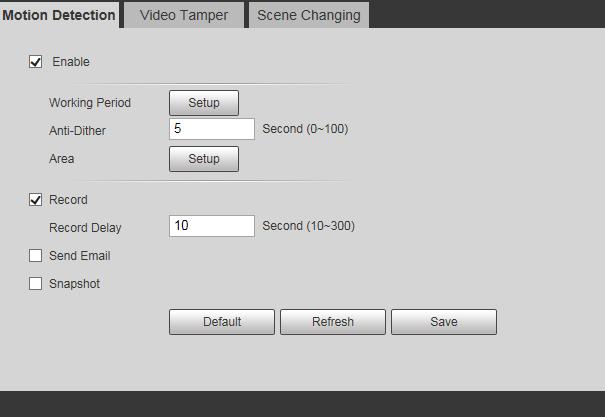 Dahua IP camera FTP upload doesn't work - IP/Megapixel