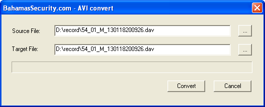 Convert  DAV to  AVI - Digital Video Recorders - CCTVForum com